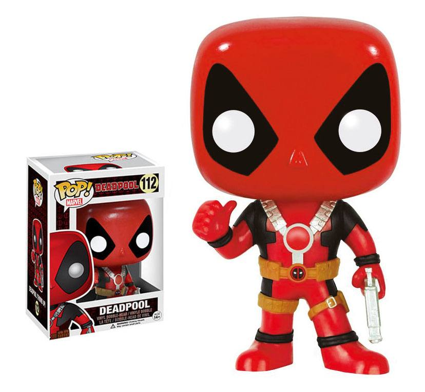 Marvel Comics POP! - bobble head Deadpool Thumb Up 10 cm