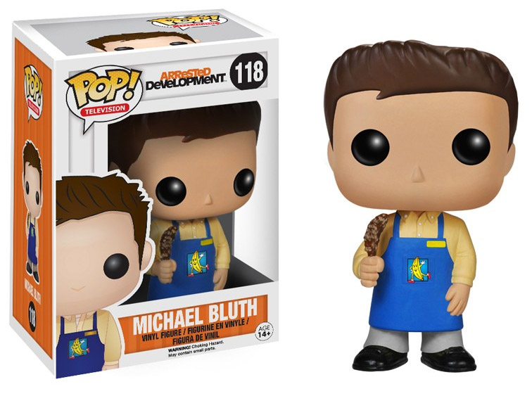 Arrested Development POP! - figúrka Michael Bluth Banana Stand 10 cm