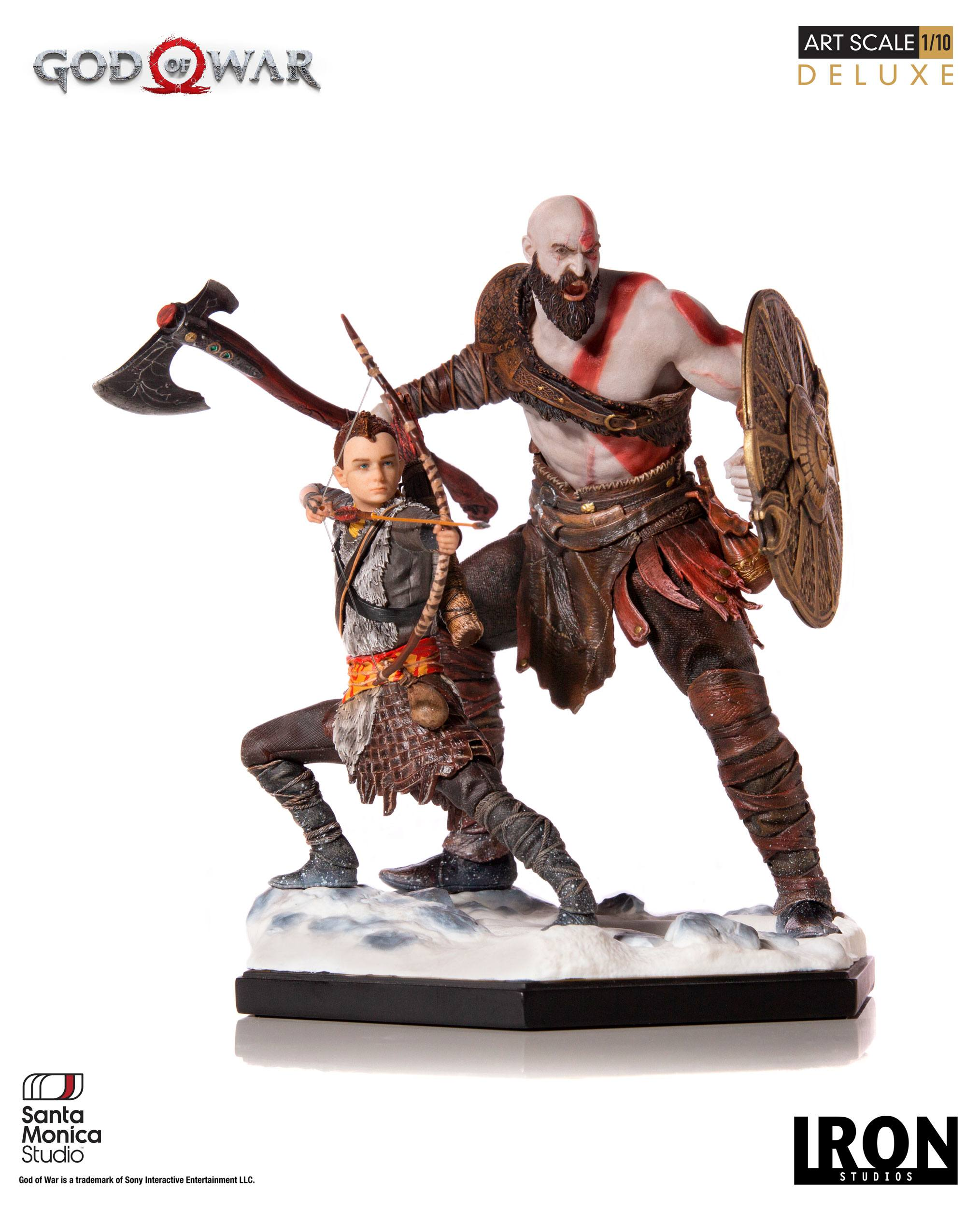 God of War - soška Kratos & Atreus 20 cm