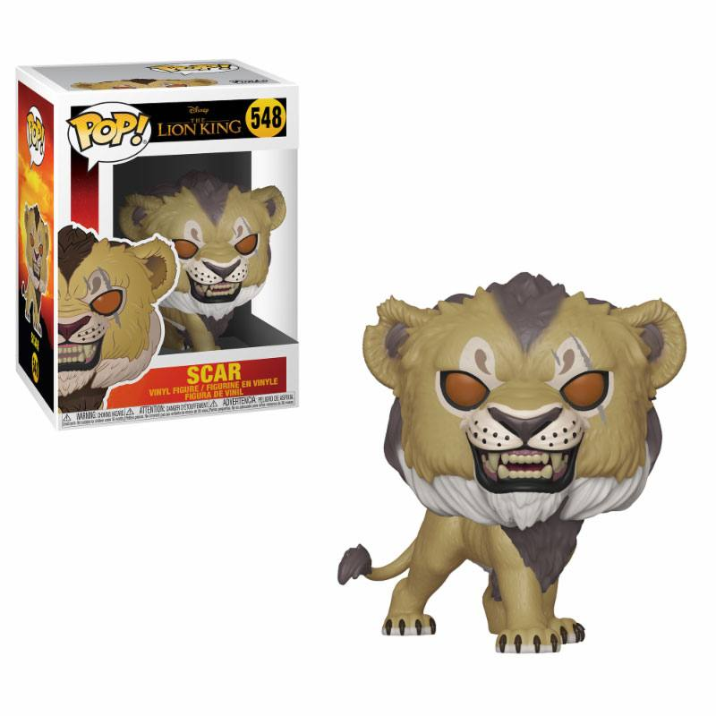 The Lion King (2019) POP! - figúrka Scar 9 cm