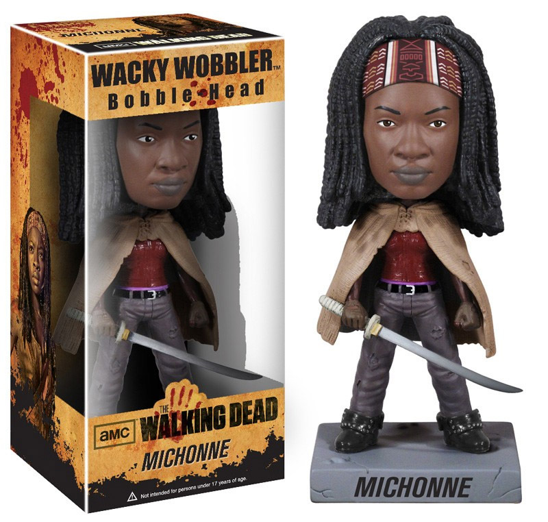 The Walking Dead - bobble head wobbler Michonne 18 cm