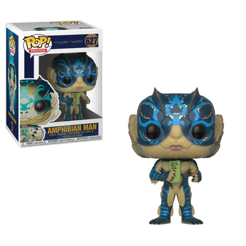 The Shape of Water POP! - figúrka Amphibian Man with Card 9 cm