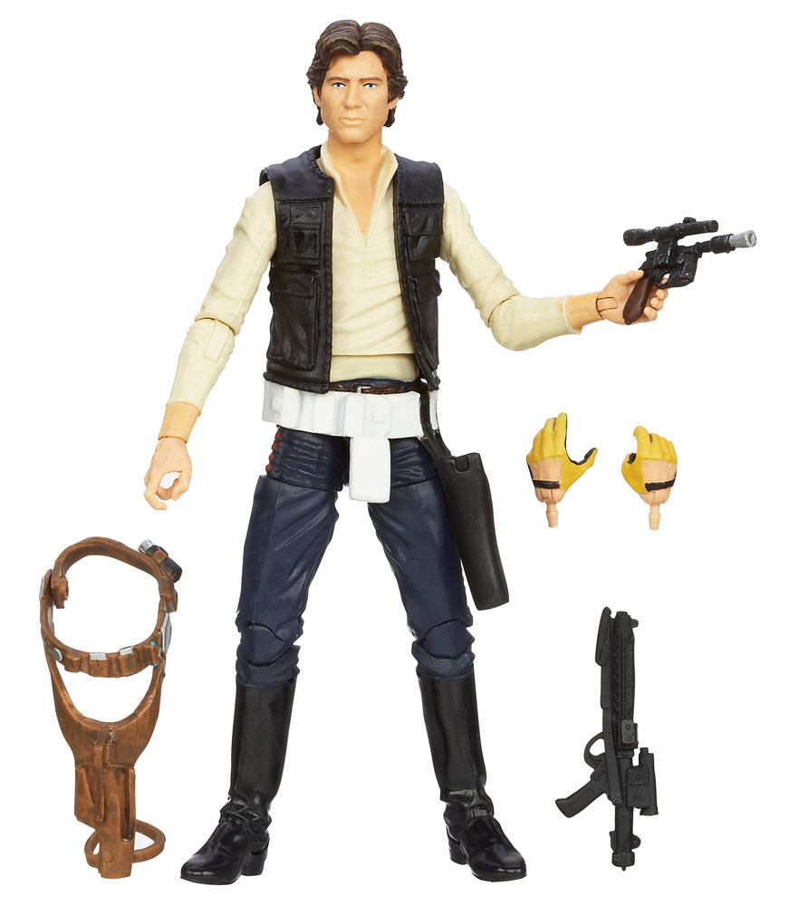 Star Wars Black Series - figúrka Han Solo 15 cm