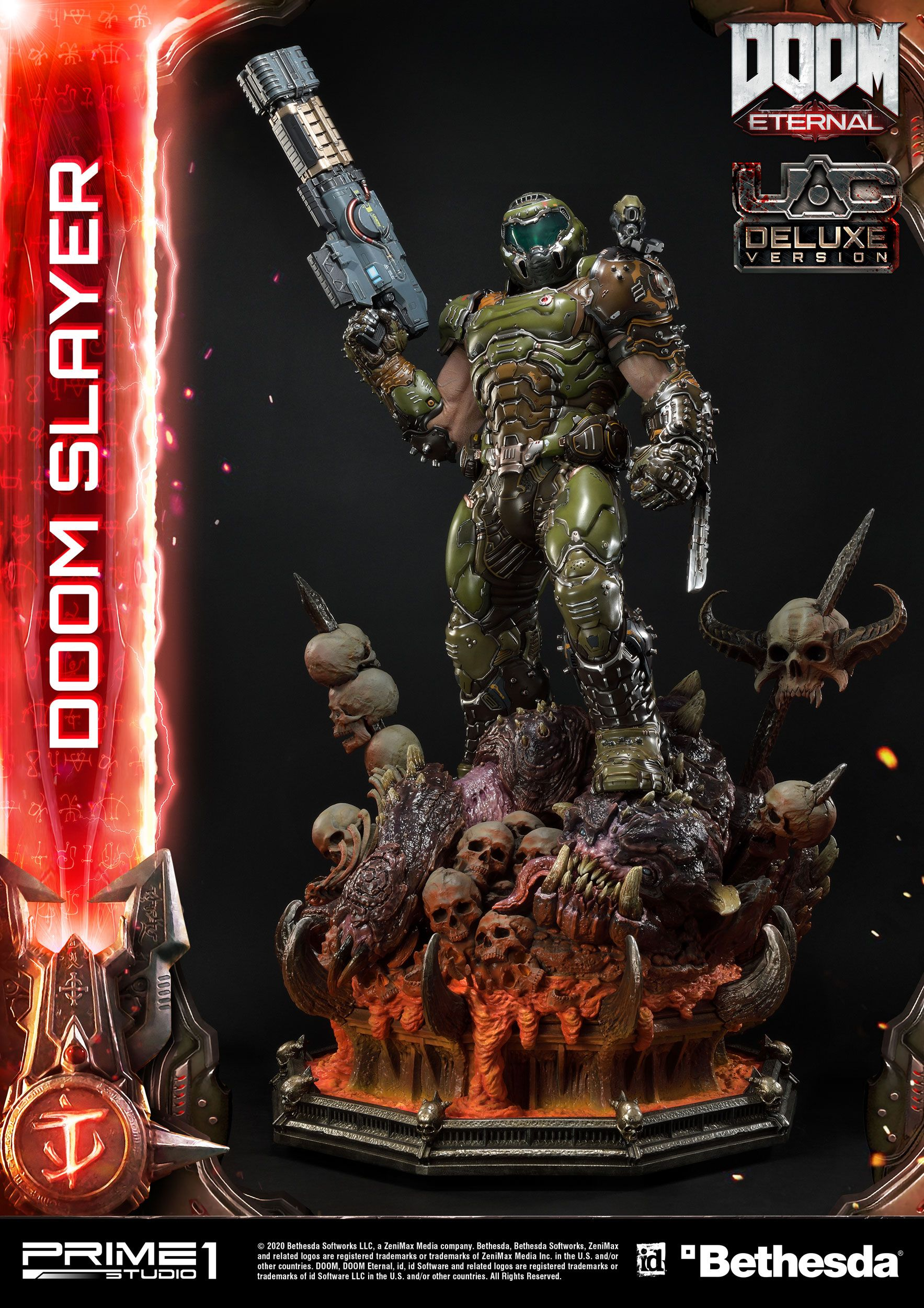 Doom Eternal - socha Doom Slayer Deluxe Version 110 cm