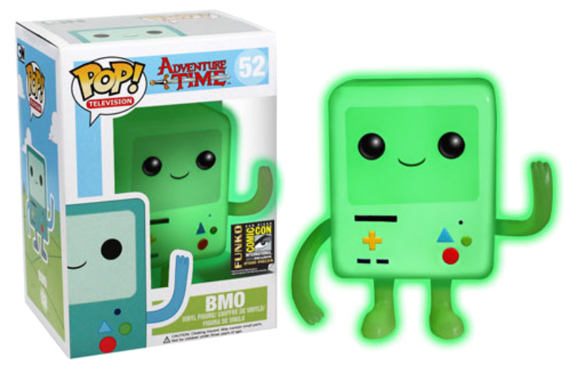 Adventure Time POP! - figúrka BMO GITD SDCC Exclusive 10 cm