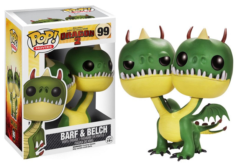 How to Train Your Dragon 2 POP! - figúrka Barf & Belch 10 cm