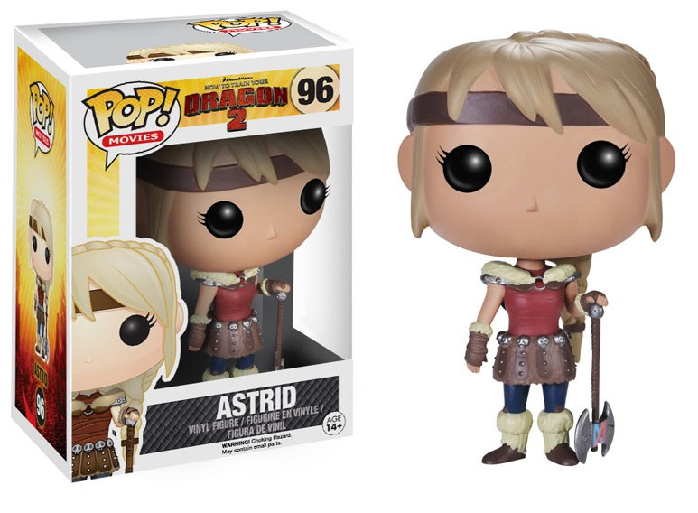 How to Train Your Dragon 2 POP! - figúrka Astrid 10 cm