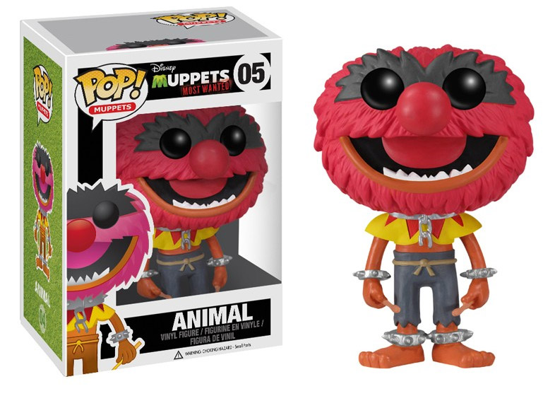 Muppets Most Wanted POP! - figúrka Animal 10 cm
