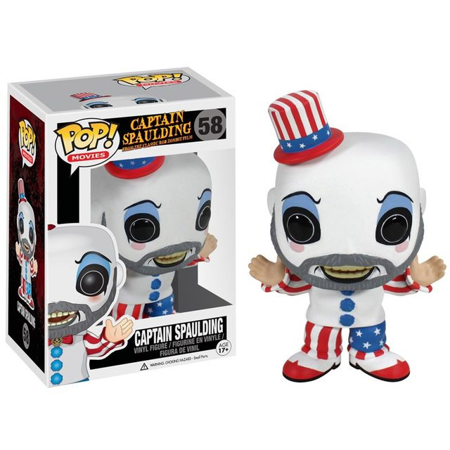 House of 1000 Corpses POP! - figúrka Captain Spaulding 10 cm