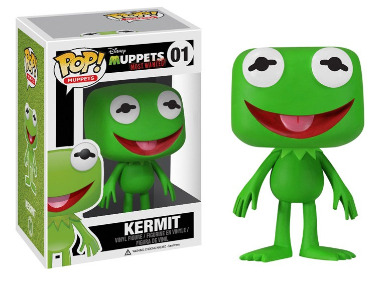 Muppets Most Wanted POP! - figúrka Kermit 10 cm