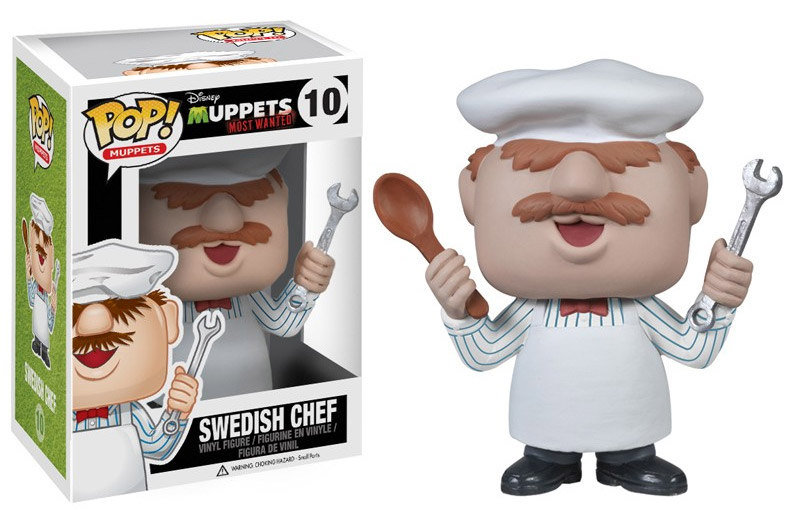 Muppets Most Wanted POP! - figúrka Swedish Chef 10 cm
