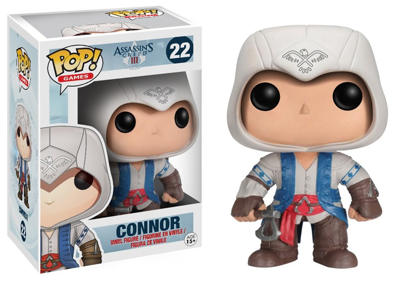 Assassin's Creed POP! - figúrka Connor 10 cm