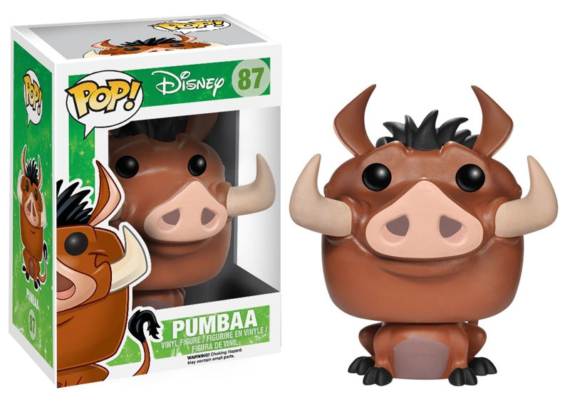 The Lion King POP! - figúrka Pumbaa 10 cm