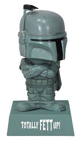 Star Wars - bobble head Boba Fett Totally Fett up! 15 cm