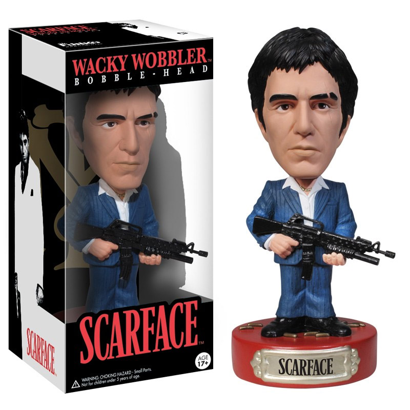 Scarface - bobble head wobbler Tony Montana 18 cm