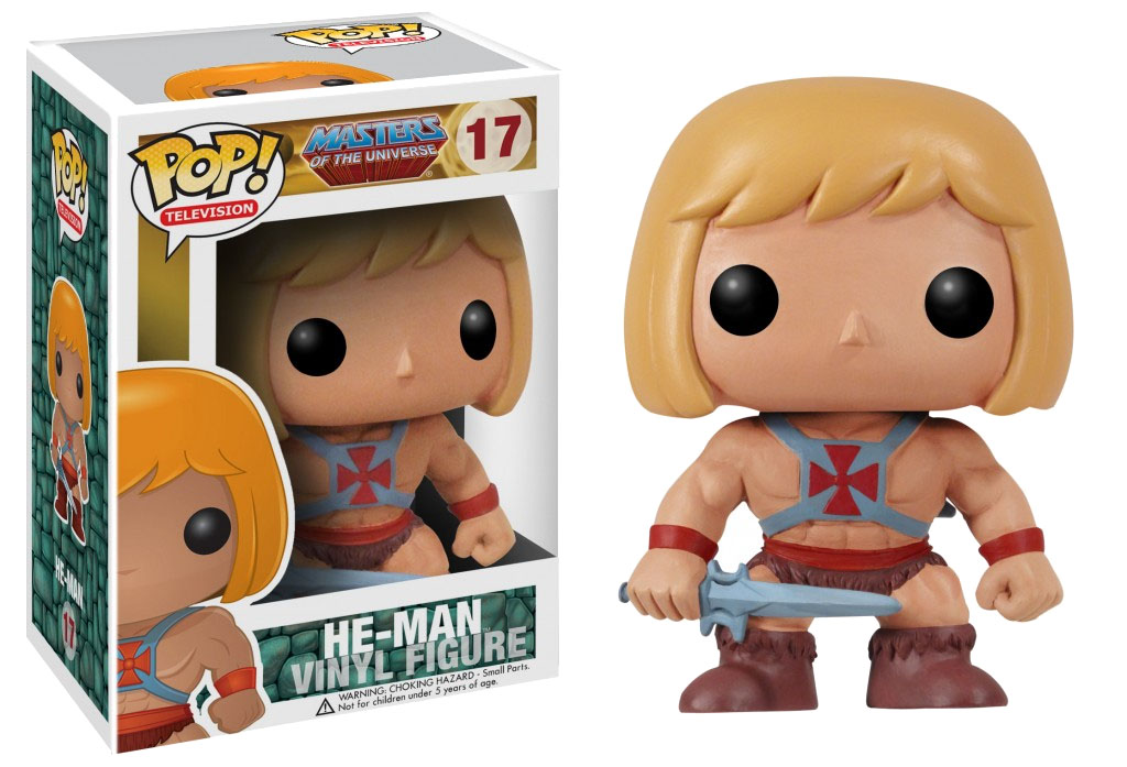 Masters of the Universe POP! - figúrka He-Man 10 cm