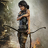 Tomb Raider 2013 - socha Lara Croft Survivor 51 cm