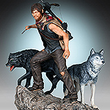 The Walking Dead - soška Daryl & the Wolves 26 cm