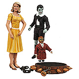 Munsters Select - figúrky Eddie & Marylin 18 cm