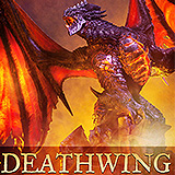 World of Warcraft - socha Deathwing 65 cm