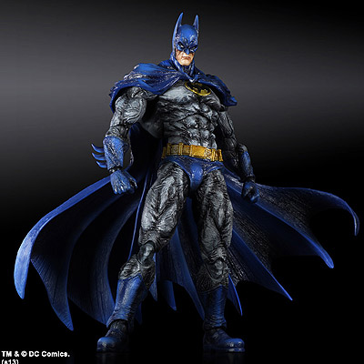 Batman Arkham City - figúrka Batman 1970s Batsuit Skin 24 cm