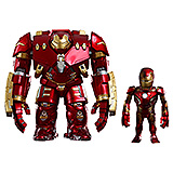 Avengers Age of Ultron - bobble head Artist Mix Hulkbuster & B.D. Iron Man 20 cm