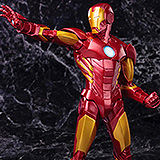 Marvel Comics ARTFX+ - soška Iron Man Red Color Variant (Avengers Now) 21 cm
