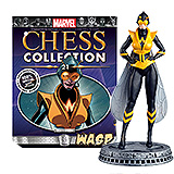 Marvel Chess Collection - figúrka a časopis #21 Wasp (White Pawn)