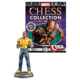 Marvel Chess Collection - figúrka a časopis  #10 Luke Cage (White Pawn)