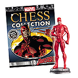 Marvel Chess Collection - figúrka a časopis  #05 Daredevil (White Pawn)