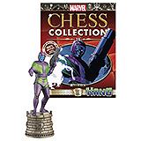 Marvel Chess Collection - figúrka a časopis  #11 Kang (Black Rook)