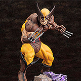 Marvel Comics - soška Wolverine Brown Costume Danger Room Sessions 20 cm