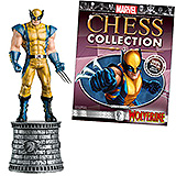 Marvel Chess Collection - figúrka a časopis  #03 Wolverine (White Knight)