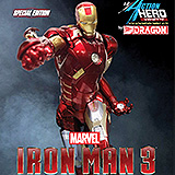 Iron Man 3 - vignette Iron Man Mark VII Special Edition 23 cm