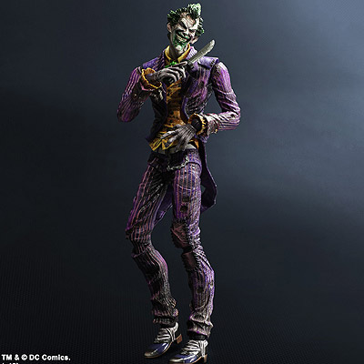 Batman Arkham City - figúrka Joker 24 cm