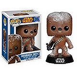Star Wars POP! - bobble head Chewbacca Hoth Snow Drift Exclusive 9 cm