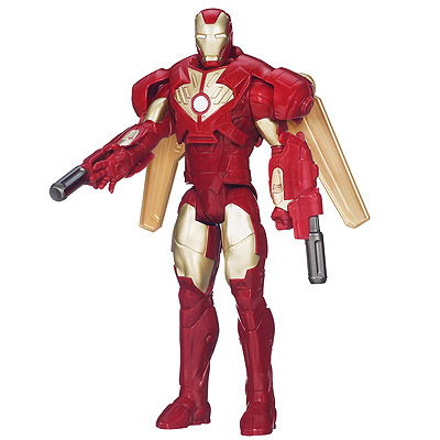 Iron Man 3 Titan Hero Series - figúrka Wing Attack Iron Man 30 cm