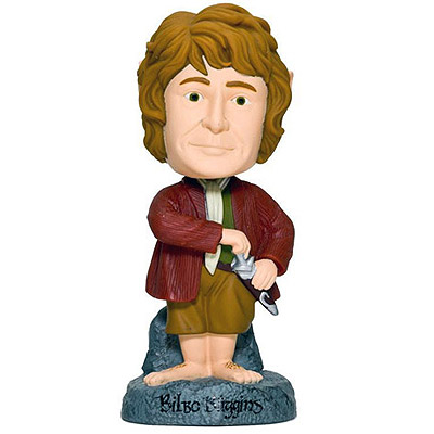 Hobbit - bobble head Bilbo 15 cm