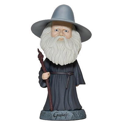 Hobbit - bobble head Gandalf 15 cm