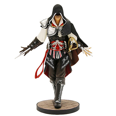 Assassin's Creed - soška Black Ezio 24 cm