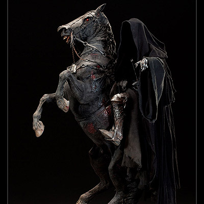 Lord of the Rings - socha Dark Rider of Mordor 79 cm