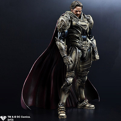 Man Of Steel - figúrka Play Arts Kai Jor-El 25 cm