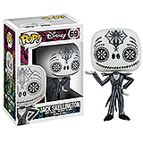 Nightmare Before Christmas POP! - figúrka Day of the Dead Jack Skellington 10cm