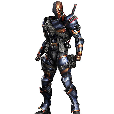 Batman Arkham Origins - figúrka Play Arts Kai Deathstroke 27 cm