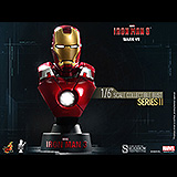 Iron Man 3 - busta Series 2 Iron Man Mark VII 11 cm