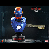 Iron Man 3 - busta Series 2 Iron Man Mark XVII Disco 11 cm