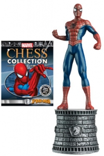 Marvel Chess Collection - figúrka a časopis #01 Spider-Man (White Knight)