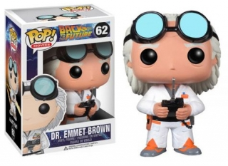 Back to the Future POP! - figúrka Doc Brown 10 cm