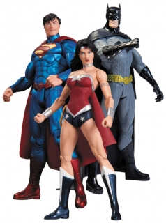 DC Comics - figúrka Box Set Trinity War 17 cm