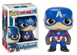 Captain America Civil War POP! - bobble head Captain America 10 cm